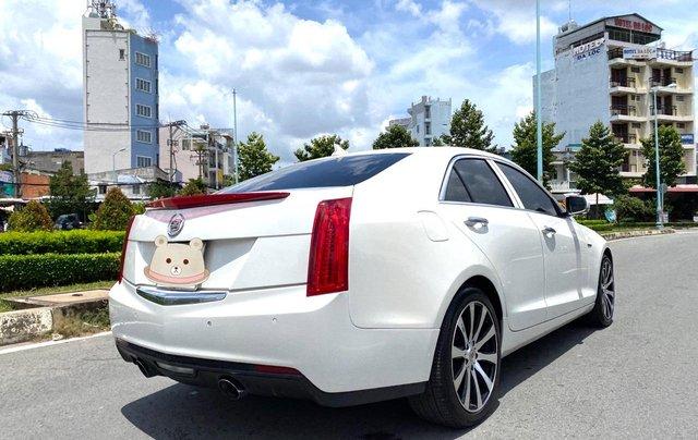 Cadillac CTS Luxury 2.0 nhập Mỹ 2015, loại cao cấp, full đồ chơi, màn hình cảm ứng, chìa khóa thông minh, nội thất sang trọng3