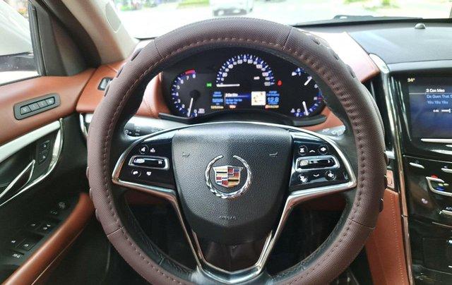 Cadillac CTS Luxury 2.0 nhập Mỹ 2015, loại cao cấp, full đồ chơi, màn hình cảm ứng, chìa khóa thông minh, nội thất sang trọng2