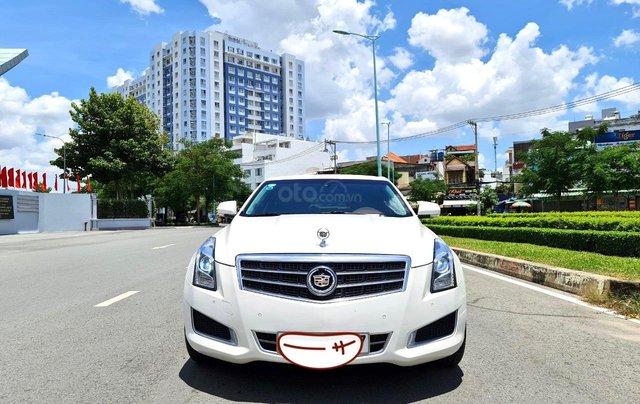 Cadillac CTS Luxury 2.0 nhập Mỹ 2015, loại cao cấp, full đồ chơi, màn hình cảm ứng, chìa khóa thông minh, nội thất sang trọng5
