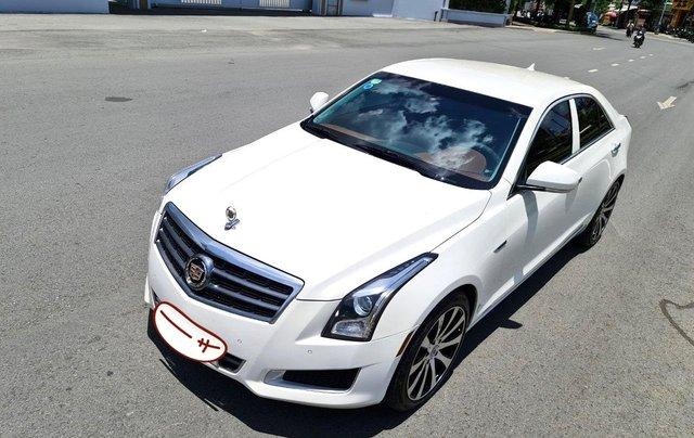 Cadillac CTS Luxury 2.0 nhập Mỹ 2015, loại cao cấp, full đồ chơi, màn hình cảm ứng, chìa khóa thông minh, nội thất sang trọng8