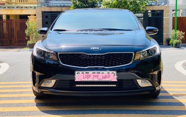Xe Kia Cerato đăng ký lần đầu 2017, màu đen, xe nhập, giá tốt 525 triệu đồng1