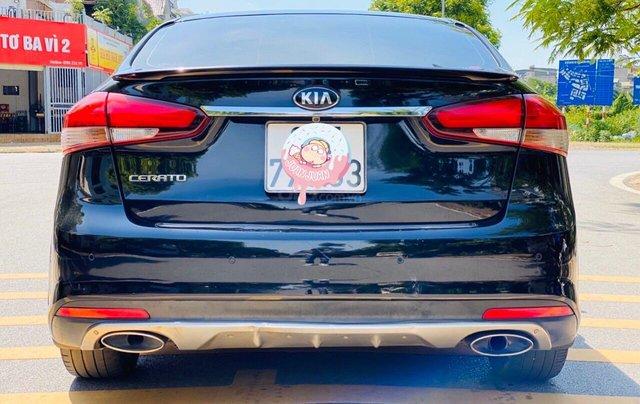 Xe Kia Cerato đăng ký lần đầu 2017, màu đen, xe nhập, giá tốt 525 triệu đồng2