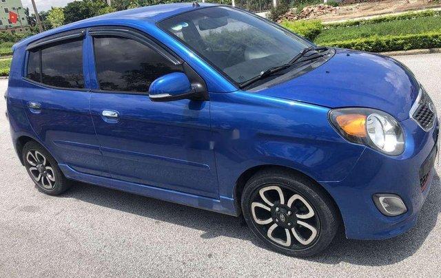 Bán Kia Morning đời 2009, màu xanh lam, nhập khẩu nguyên chiếc4