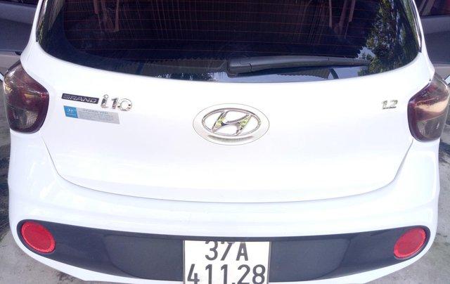 Muốn bán Hyundai i10 1.2 MT, đăng kí cuối năm 20172