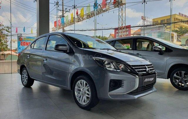 Mitsubishi Attrage nhập khẩu Thái Lan, tặng 50% trước bạ, đặt xe sớm nhận ưu đãi khủng0