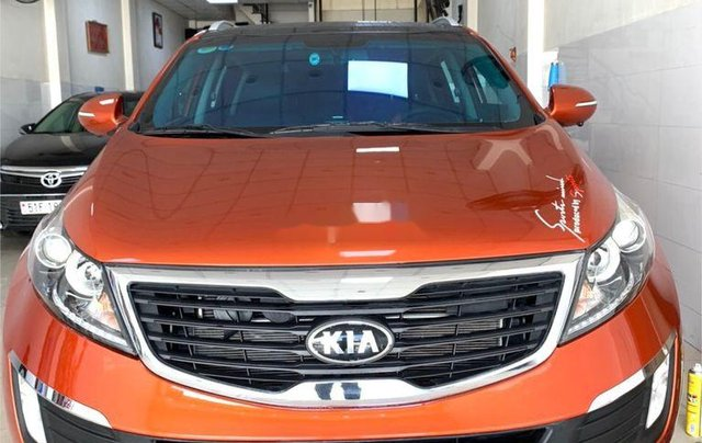 Bán Kia Sportage đời 2012, màu cam0