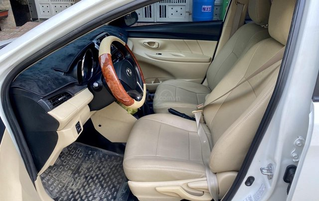 Bán Toyota Vios E sản xuất 2018 màu trắng5