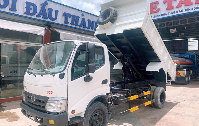 Bán xe tải Hino Dutro Ben tự đổ 4 khối, đời 20160