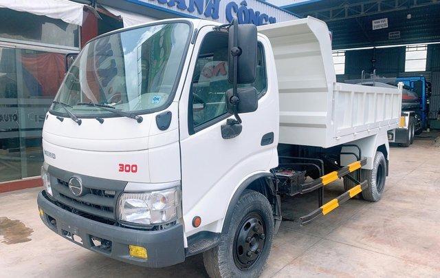 Bán xe tải Hino Dutro Ben tự đổ 4 khối, đời 20165