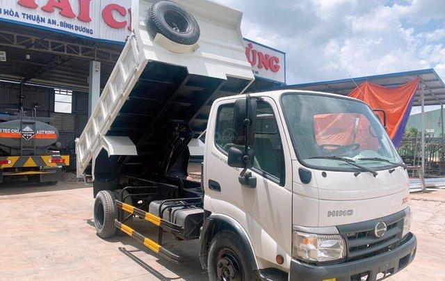 Bán xe tải Hino Dutro Ben tự đổ 4 khối, đời 20169