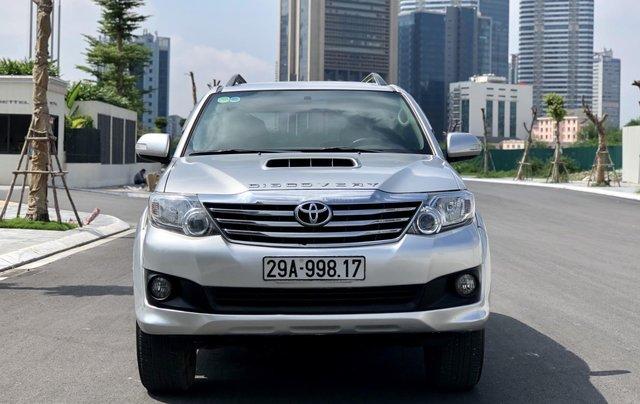 Bán Toyota Fortuner năm sản xuất 2013, giá cạnh tranh0