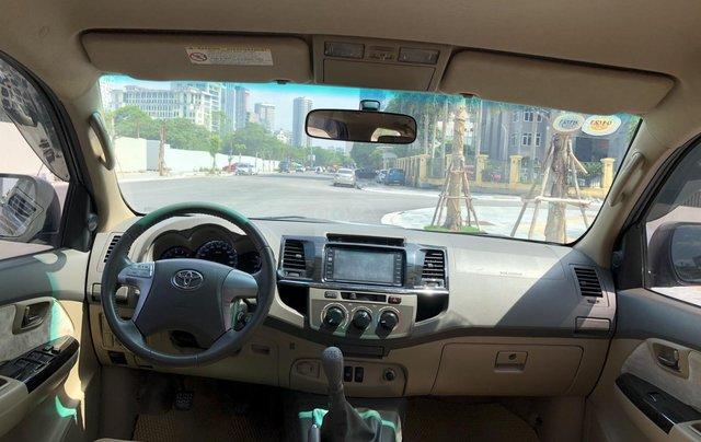 Bán Toyota Fortuner năm sản xuất 2013, giá cạnh tranh11