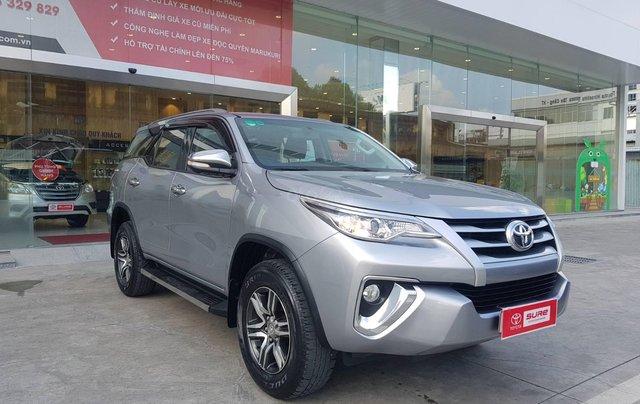 Cần. Bán xe Toyota Fortuner 2.4G diesel MT 2017 bạc, BS đẹp HCM - Xe chất giá tốt chính hãng1