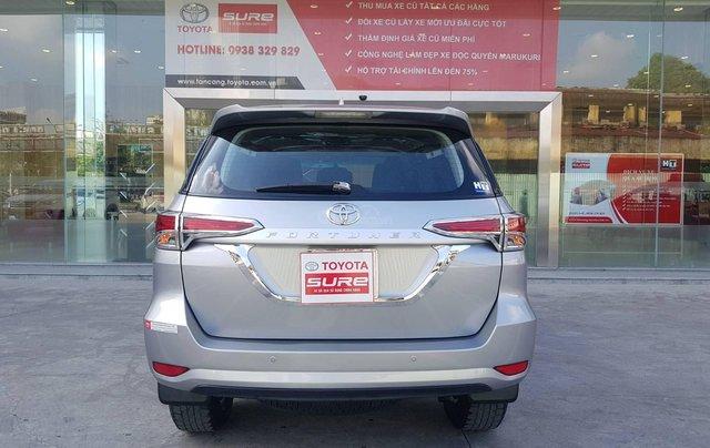 Cần. Bán xe Toyota Fortuner 2.4G diesel MT 2017 bạc, BS đẹp HCM - Xe chất giá tốt chính hãng6
