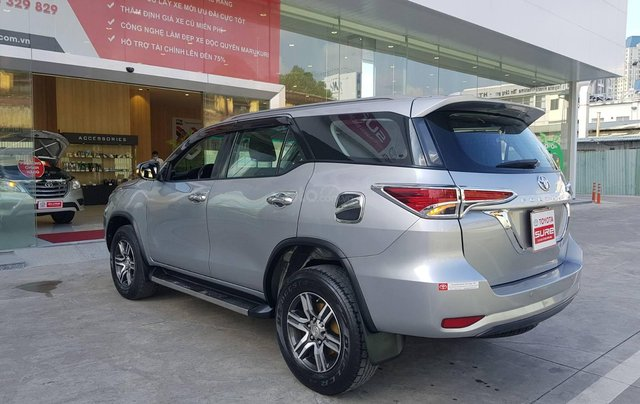 Cần. Bán xe Toyota Fortuner 2.4G diesel MT 2017 bạc, BS đẹp HCM - Xe chất giá tốt chính hãng5