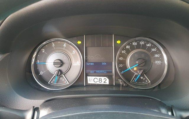 Cần. Bán xe Toyota Fortuner 2.4G diesel MT 2017 bạc, BS đẹp HCM - Xe chất giá tốt chính hãng10