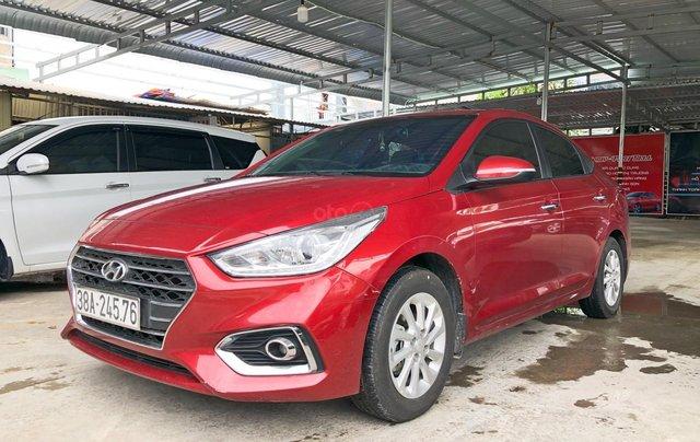 Bán Hyundai Accent tự động tiêu chuẩn, màu đỏ, sản xuất 20190