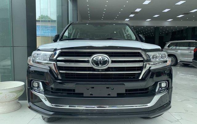 Bán Toyota Land Cruiser VXS sản xuất 2020 màu đen, xe nhập khẩu mới 100%1