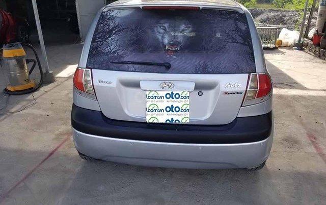 Xe Hyundai Getz 1.1 MT năm 2009, màu bạc, nhập khẩu  4