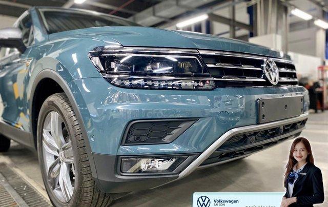 Khuyến mãi giá tốt Tháng 9/2020 cho Tiguan luxury S màu xanh Petro - Phiên bản full option7