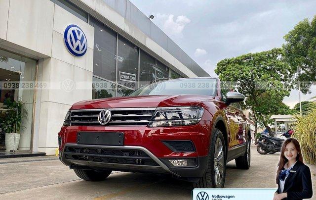 Tiguan Luxury S màu đỏ - Phiên bản Offroad cao cấp nhất - SUV 7 chỗ nhập khẩu giá cực tốt tháng 9/20205
