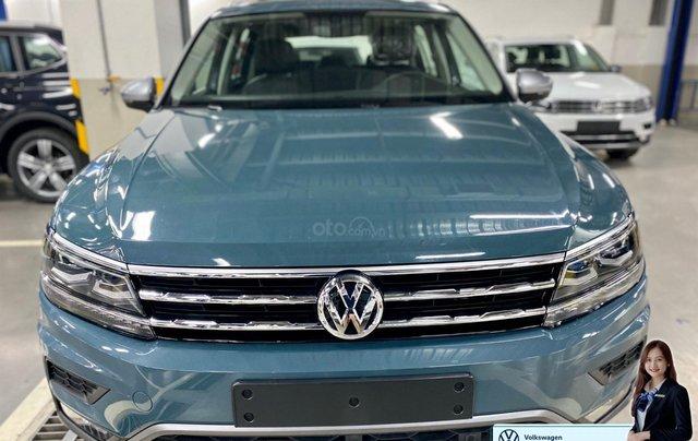 Khuyến mãi giá tốt Tháng 9/2020 cho Tiguan luxury S màu xanh Petro - Phiên bản full option5
