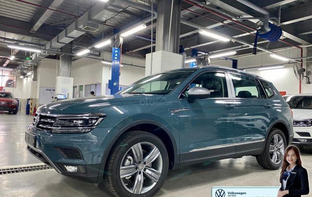 Khuyến mãi giá tốt Tháng 9/2020 cho Tiguan luxury S màu xanh Petro - Phiên bản full option8