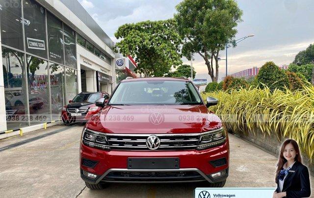 Tiguan Luxury S màu đỏ - Phiên bản Offroad cao cấp nhất - SUV 7 chỗ nhập khẩu giá cực tốt tháng 9/20204
