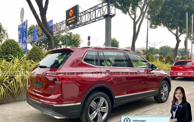 Tiguan Luxury S màu đỏ - Phiên bản Offroad cao cấp nhất - SUV 7 chỗ nhập khẩu giá cực tốt tháng 9/20206