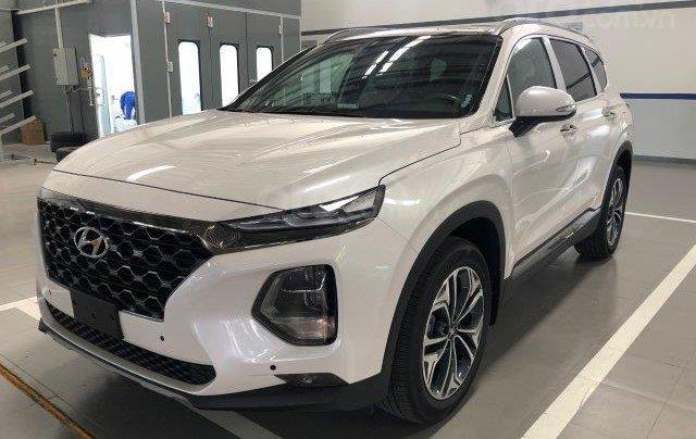Hyundai SantaFe 2020 2.2D 1 cầu đang giảm giá sâu hot nhất thị trường0