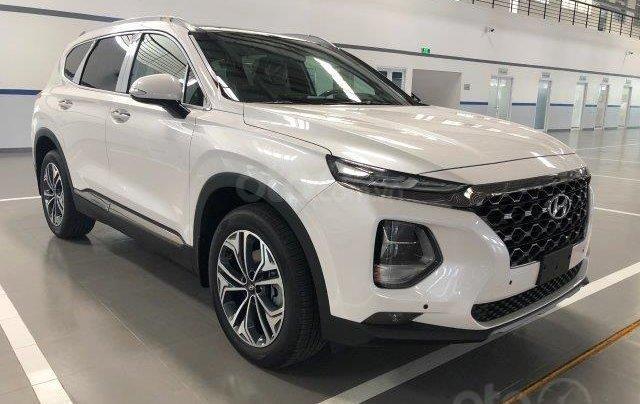 Bán xe Hyundai Santafe 2.2D 2020 số tự động giảm giá khủng tặng phụ kiện hấp dẫn chính hãng10