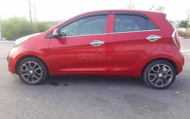 Bán xe Kia Picanto năm sản xuất 2013, màu đỏ còn mới 0