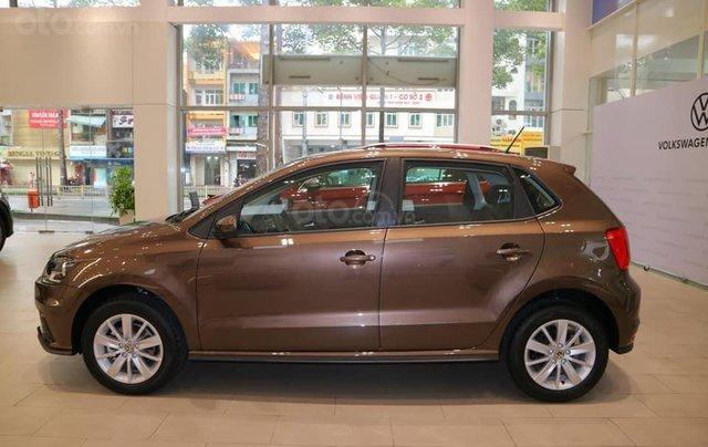 Volkswagen Sài Gòn - Polo Hatchback màu nâu - Khuyến mãi giá tốt giao xe ngay0