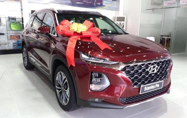 [Siêu khuyến mãi] Hyundai Santafe 2020 giảm ngay 50% thuế TB + quà tặng cực kỳ hấp dẫn, trả trước 200 triệu nhận ngay xe0