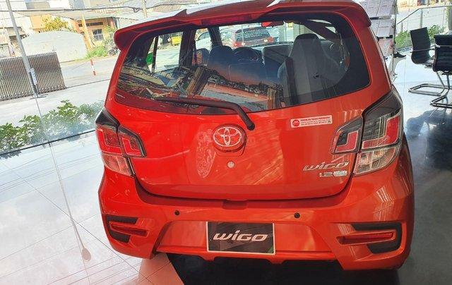 Toyota Wigo 1.2 số tự động - màu cam giao ngay - khuyến mãi tiền mặt - phụ kiện - mua trả góp lãi 0,49%/tháng1