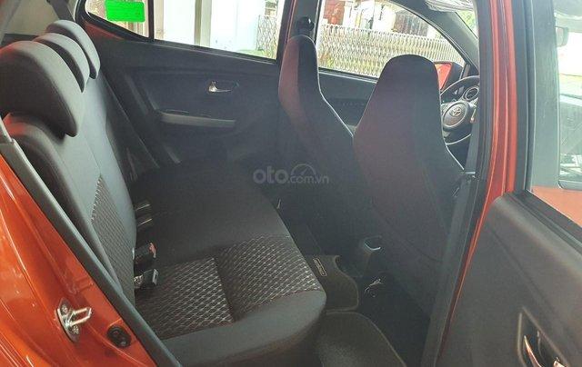 Toyota Wigo 1.2 số tự động - màu cam giao ngay - khuyến mãi tiền mặt - phụ kiện - mua trả góp lãi 0,49%/tháng3