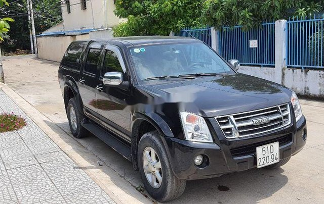 Cần bán Isuzu Dmax đời 2009, màu đen, 305 triệu1