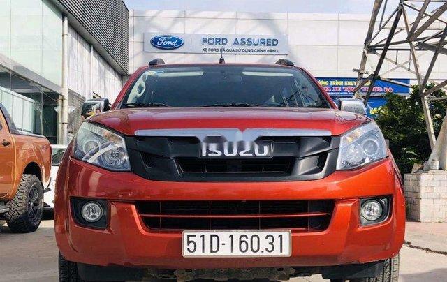 Cần bán xe Isuzu Dmax đời 2017, màu đỏ, nhập khẩu giá cạnh tranh0