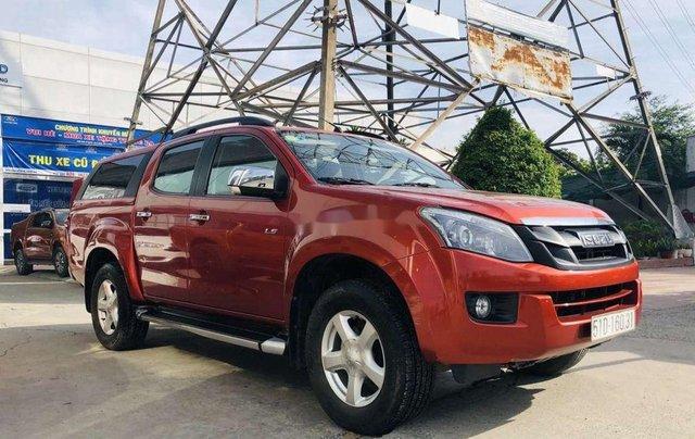 Cần bán xe Isuzu Dmax đời 2017, màu đỏ, nhập khẩu giá cạnh tranh1