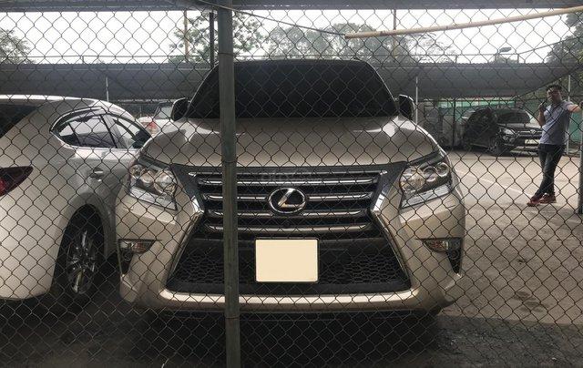 Chính chủ bán Lexus GX 460 động cơ V8 dung tích 4.6L, xe tên công ty xuất HĐ, model 2016 màu vàng cát, xuất Mỹ full options1