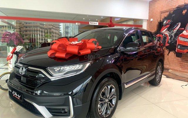 [Honda Ôtô Sài Gòn Quận 2] Honda CR-V Facelift 2020, gói ưu đãi cực khủng + giảm 50% thuế trước bạ, hỗ trợ vay ngân hàng0