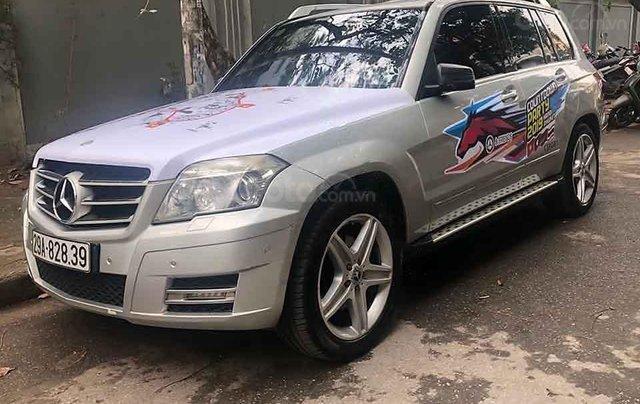 Cần bán gấp Mercedes GLK đời 2009, màu bạc, nhập khẩu nguyên chiếc chính chủ2
