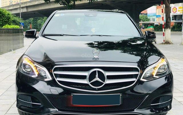 Chính chủ bán Mercedes E250 model 2014 đăng ký tháng 7/2014, màu đen, nội thất nâu, sang trọng, biển đẹp0