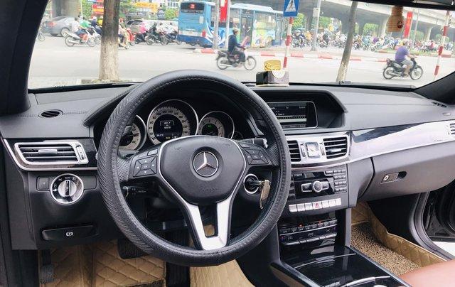 Chính chủ bán Mercedes E250 model 2014 đăng ký tháng 7/2014, màu đen, nội thất nâu, sang trọng, biển đẹp3