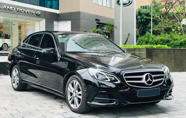 Chính chủ bán Mercedes E250 model 2014 đăng ký tháng 7/2014, màu đen, nội thất nâu, sang trọng, biển đẹp4