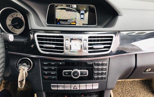 Chính chủ bán Mercedes E250 model 2014 đăng ký tháng 7/2014, màu đen, nội thất nâu, sang trọng, biển đẹp5