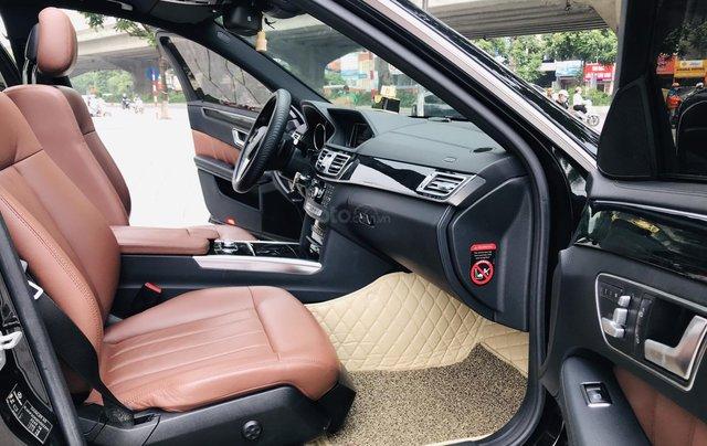 Chính chủ bán Mercedes E250 model 2014 đăng ký tháng 7/2014, màu đen, nội thất nâu, sang trọng, biển đẹp14