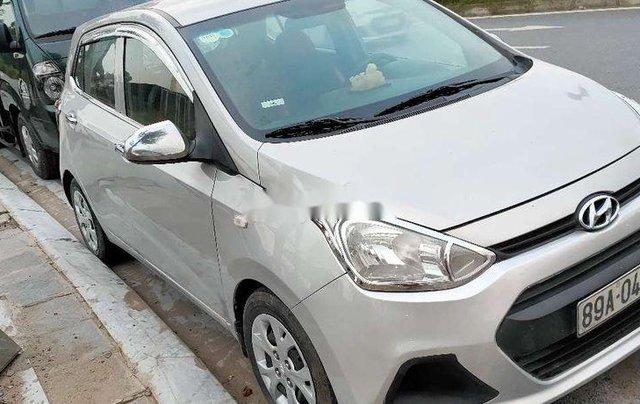 Bán Hyundai Grand i10 năm sản xuất 2014, màu bạc, nhập khẩu6