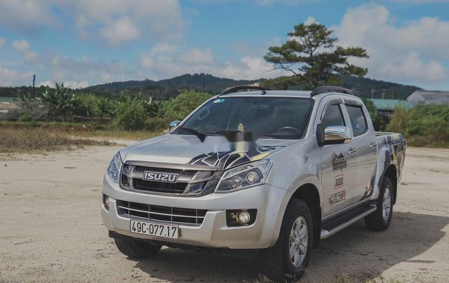 Cần bán Isuzu Dmax LS đời 2014, màu trắng, xe nhập 1