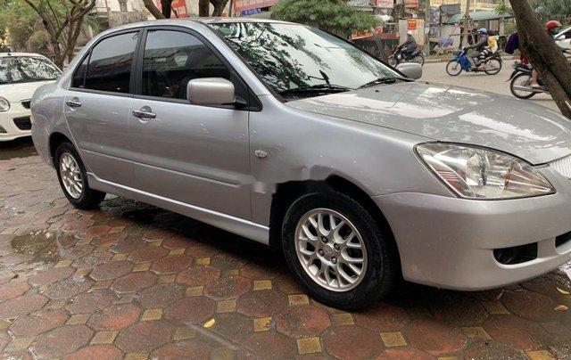 Bán Mitsubishi Lancer sản xuất năm 2005, màu bạc chính chủ1